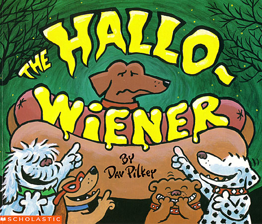 photo of the Halloweiner book cover